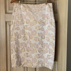 Beautiful Silk Embroidered Pencil Skirt